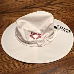 Harvard Lacrosse hat, brand new